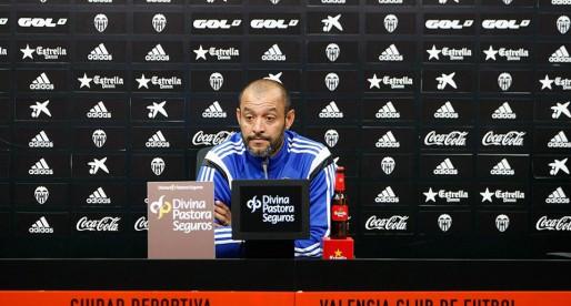 """Nuno: """"Demà volem dedicar-li la victòria a Mestalla"""""""