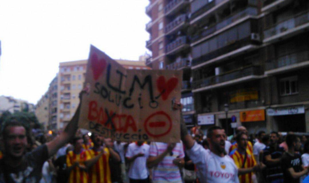 Fotogaleria Manifestació Mestalla