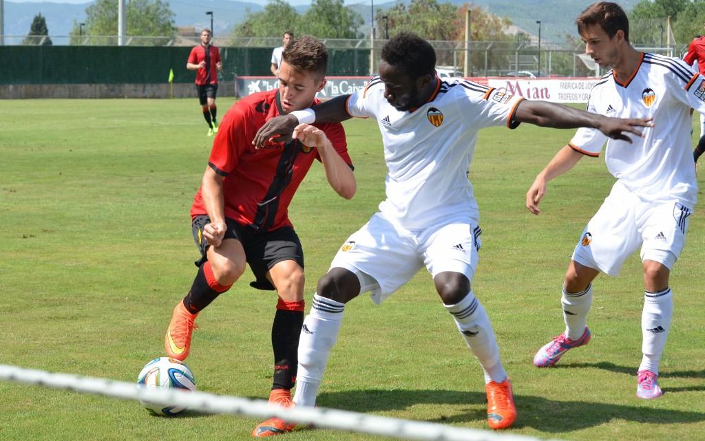 Primera derrota de la temporada davant el Mallorca B (2-1)