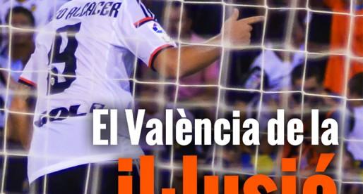 Portada: València 3-0 Màlaga