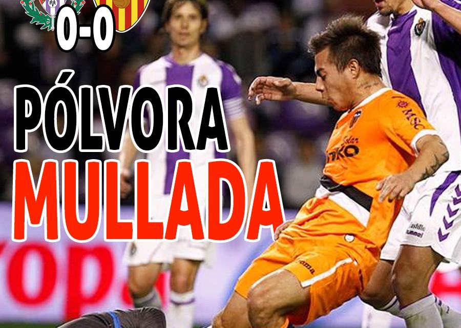 La portada  del Valladolid-VCF