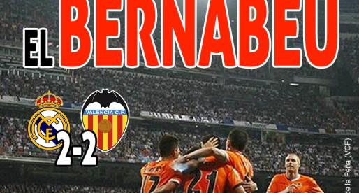 La portada del Reial Madrid-VCF