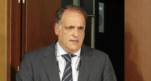 """Tebas: """"El València va a entrar, segurament, en concurs de creditors"""""""