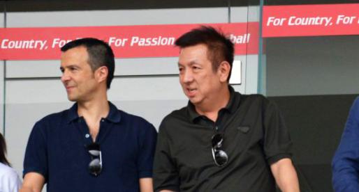 Jorge Mendes està a Singapur, per a reunir-se amb Lim?