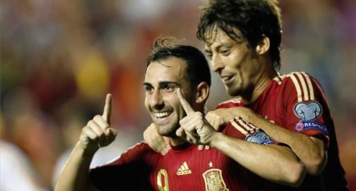 Paco Alcácer també marca amb la selecció