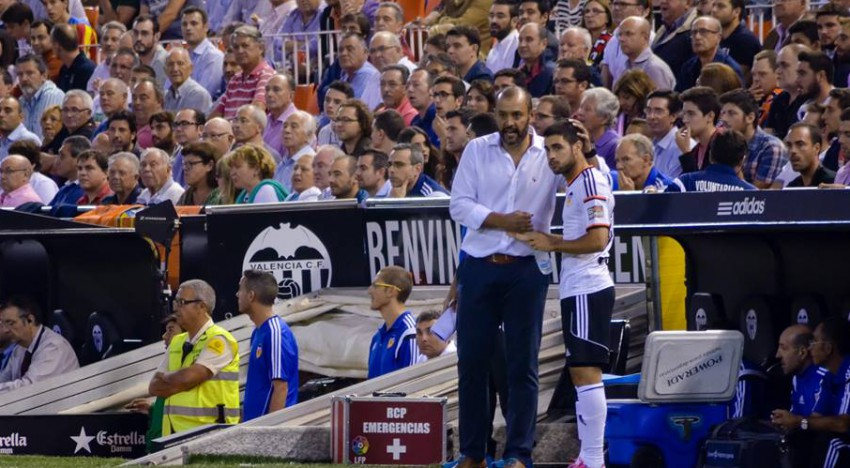 """Nuno: """"Este partit l'ha guanyat Mestalla"""""""