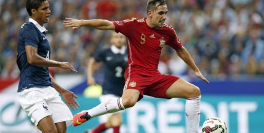 Alcacer és el 9 titular d'Espanya