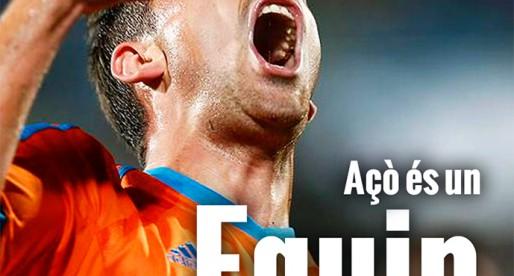 Portada : Getafe 1-3 ValènciaCF