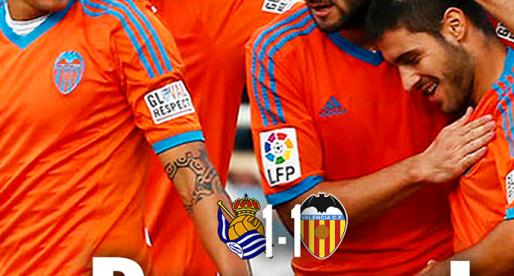 Portada: Reial Societat 1-1 València CF