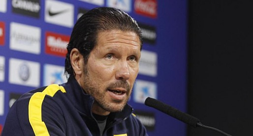 Simeone vol canviar l'hora del VCF-Atlètic de Madrid