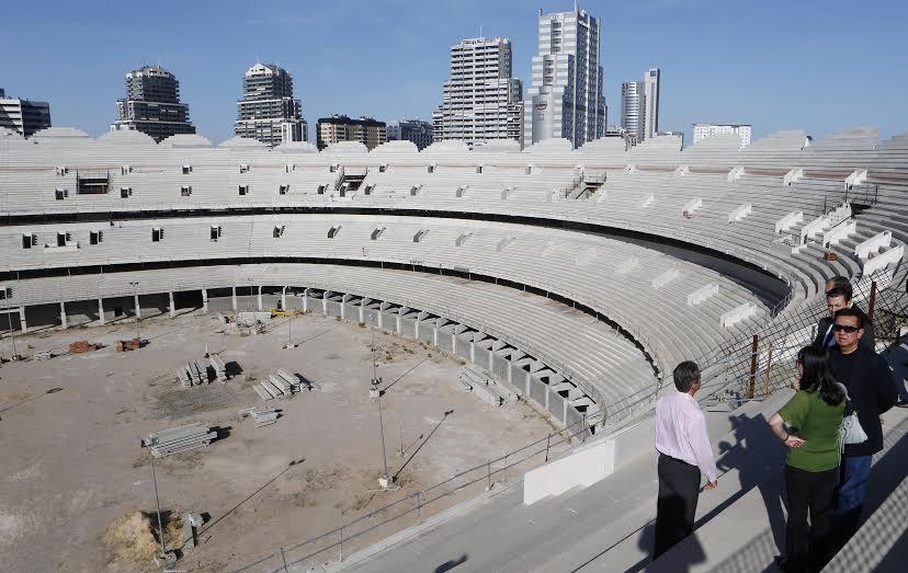 El València CF espera reactivar les obres del Nou Mestalla en març