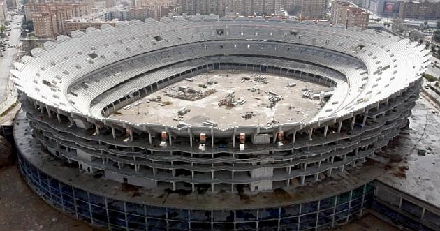 S'inicien les obres al voltant del Nou Mestalla