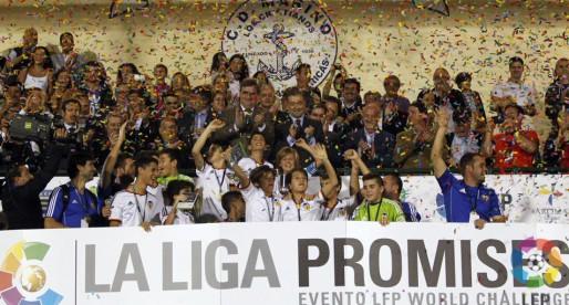 Els campions del torneig d'Arona seran homenatjats abans del partit contra el Madrid
