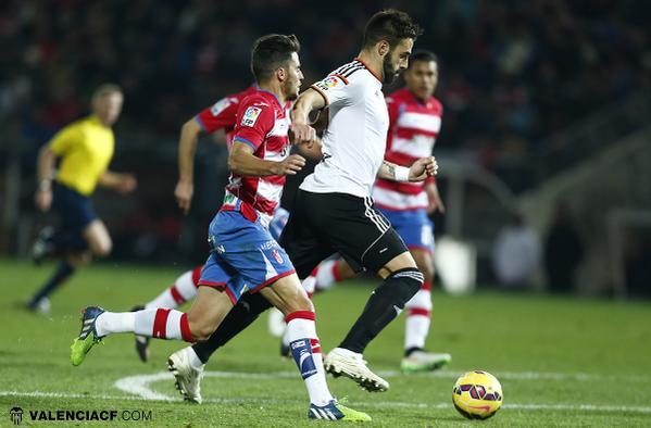 Granada-VCF: Pobra presència de futbol a Granada (1-1)