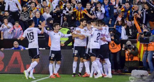 Mestalla ha sigut un fortí l'any 2015: 0 derrotes en Lliga