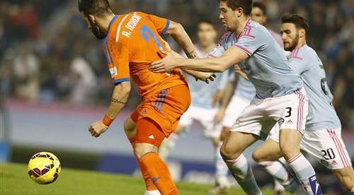 El València perd els papers a Vigo (1-1)
