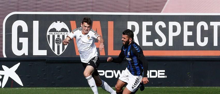 CRÒNICA VCF Mestalla: El Mestalla suma 1 punt davant l'Espanyol B (1-1)