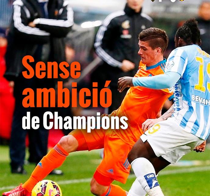 Portada : Màlaga 1 – València CF 0
