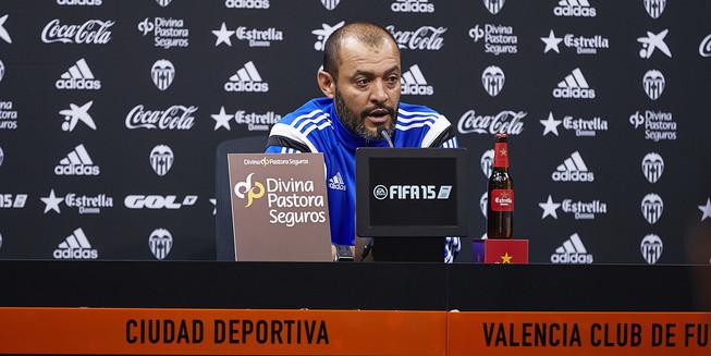 "Nuno: ""Competim buscant l'objectiu dels 3 punts"""