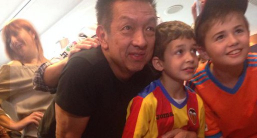 Peter Lim acompanya al VCF en Barcelona