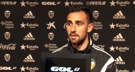 """Alcácer: """"És un orgull ser del València i vestir esta samarreta"""""""