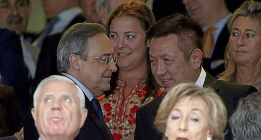 Reunió privada al Bernabéu entre Florentino i Lim