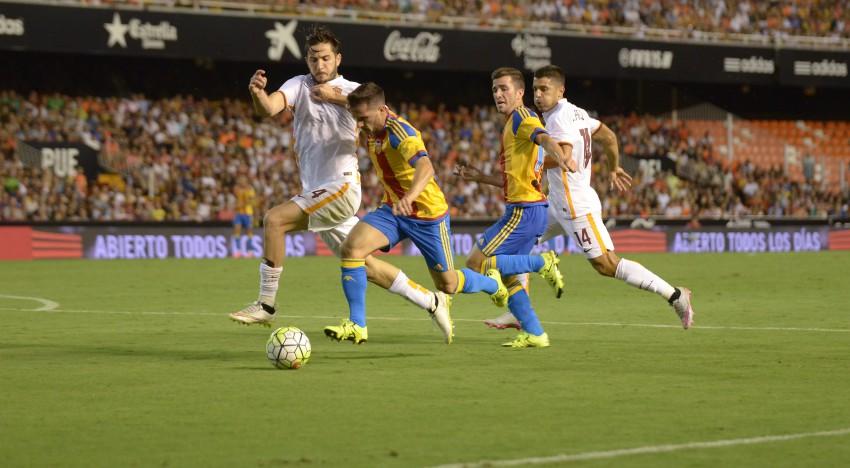 CRÒNICA VCF 1-3 AS Roma: El temps de proves arriba a la seua fi amb una derrota