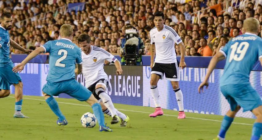 CRÒNICA VCF 2-3 Zenit: El VCF cau davant el poder del gol