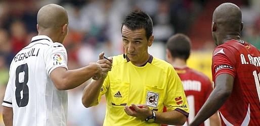 5 victòries i 1 derrota quan Pérez Montero ha xiulat al València