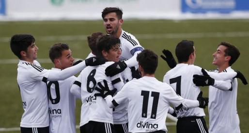 CRÒNICA Youth League: El Juvenil supera el fred i al Zenit a la Youth League (0-1)