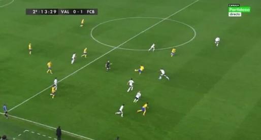 El gol de Luís Suárez era il·legal