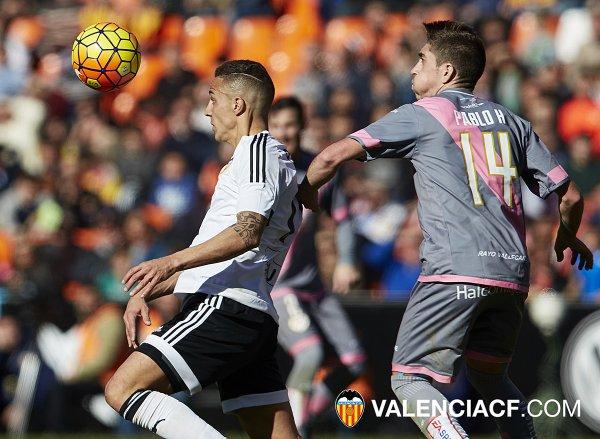 Coneix l'horari del València cf-Rayo Vallecano