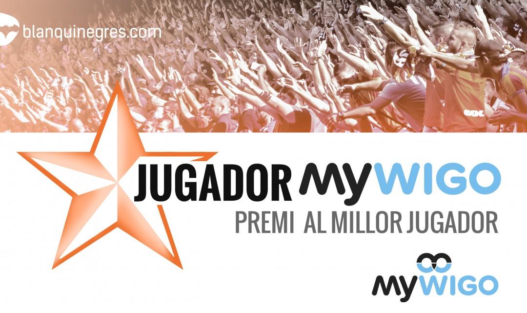 Vota al Millor jugador Mywigo del ValènciaCF-Celta