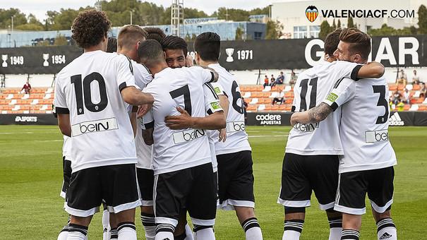 VCF Mestalla-Reus: Iban i Arango apropen la salvació definitiva (2-0)
