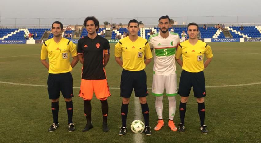 Empat del Mestalla davant l'Olímpica d'Algèria (1-1)