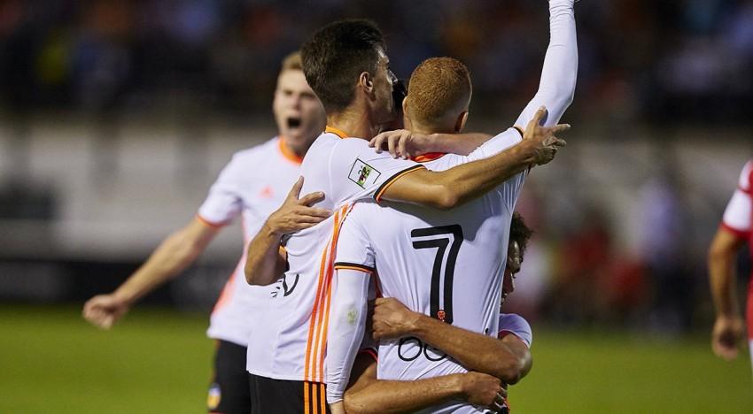 El Mestalla torna a sumar de tres al derbi davant l'Hèrcules (1-0)