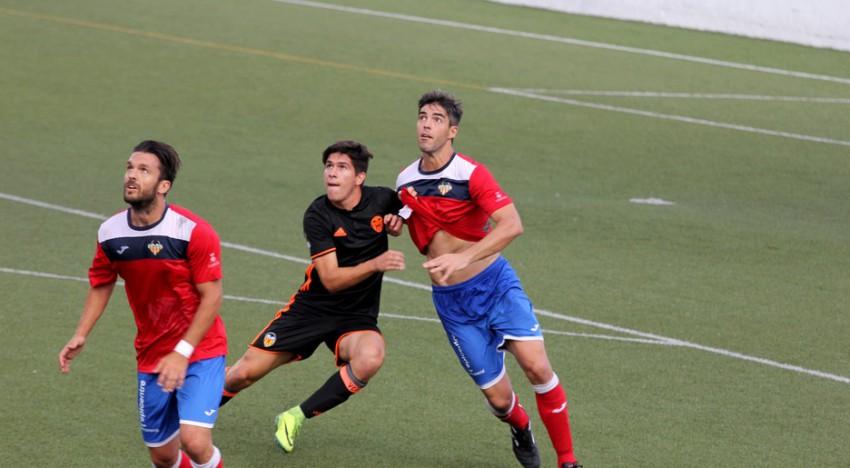 Atl. Saguntino-VCF Mestalla: Empat del Mestalla que continua sense conèixer la derrota (2-2)