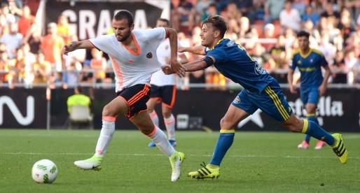 El Mestalla goleja al Celta B i està a dos passos de l'ascens