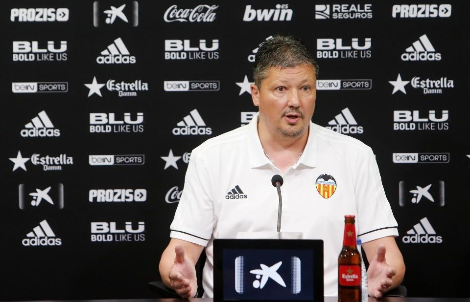 Lubo Penev vol abandonar el València Mestalla