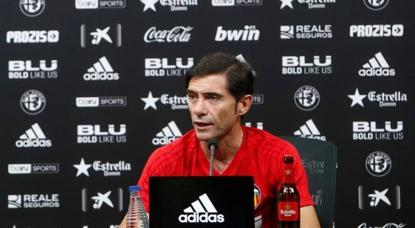 """Marcelino: """"Competir directament contra Reial Madrid i Atlètic sense perdre és per a estar orgullosos"""""""