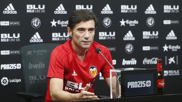 """Marcelino: """"Betis o Champions? És més important el partit de demà"""""""