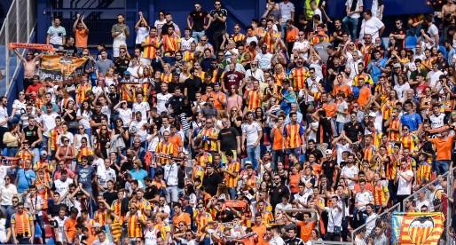El València CF estarà acompanyat per més de 500 valencianistes en Getafe
