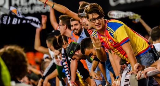 L'assistència a Mestalla augmenta un 9%