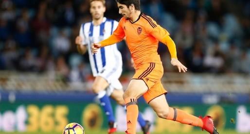Carlos Soler torna a l'estadi on va debutar