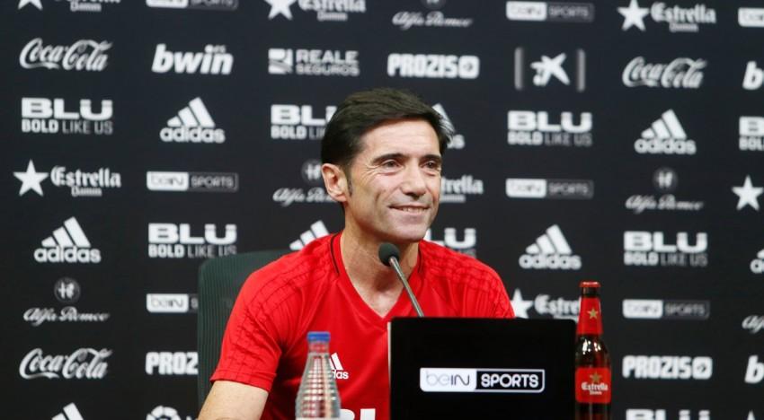 """Marcelino: """"Al meu contracte no fica que un jugador ha de jugar 90 minuts"""""""