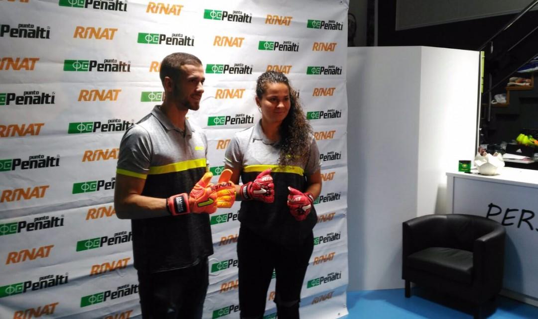 Jaume Domenech i Noelia Bermúdez visiten Punto Penalti
