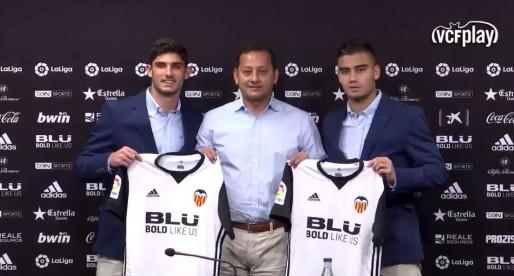 Pereira i Guedes, preparats per jugar davant l'Atlètic de Madrid