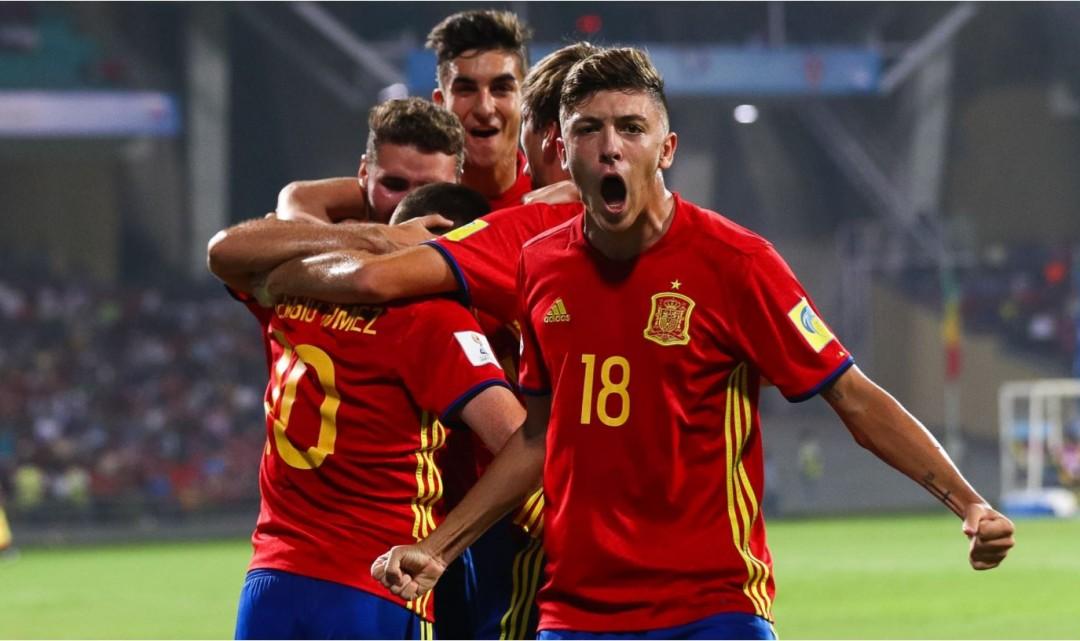 Ferran Torres i Hugo Guillamón jugaran la final de la Copa del Món sub-17