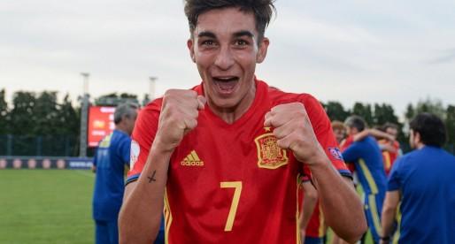 Ferran Torres s'estrena amb la selecció sub-17