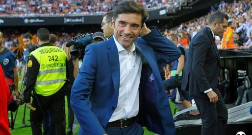 Marcelino se'n recorda del València després de guanyar la Supercopa